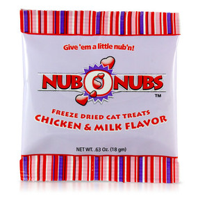 Nubonubs  Cat Treats ~ Chicken & Milk
