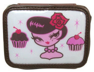 Cupcake Girl 8 compartment pill box by Fluff UPC# 794955017496