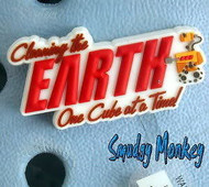 SALE WALL-E EARTH DISNEY PIXAR JIBBITZ CROCS SHOE CHARM