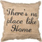Authentic Primitives By Kathy Throw Pillow - There's No Place Like Home Item #27048
