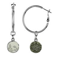 Jilzarah's Reversible Earrings ~  Like getting 2 pairs of earrings!
