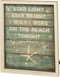 Star Light Star Bright I Wish I Were On The Beach Tonight - Light Up LED Wood Sign Primitives By Kathy #30882