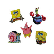 Authentic Jibbitz shoe charms for your Crocs: Spongebob Squarepants and friends!