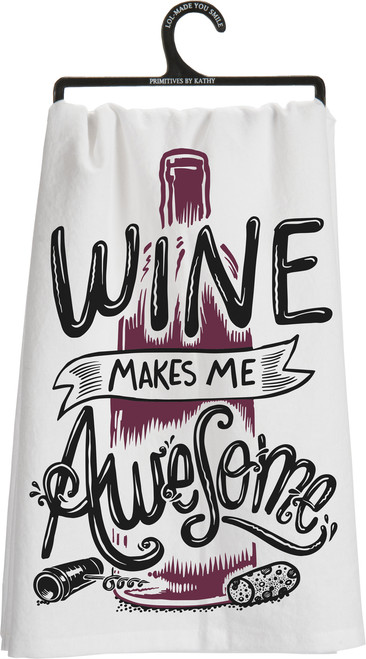 LOL 100% Cotton Flour Sack Style Dish Towels from Primitives By Kathy make gift giving easy!