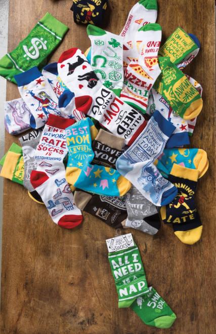 LOL Socks premium quality cotton blend novelty socks