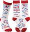 LOL Novelty Socks - The Divorce Rate Among Socks Is Astonishing!