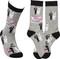 For the bride and groom!  Just Married!  LOL socks from Primitives By Kathy