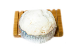 CUPCAKE SOAP:  This cupcake soap looks and smells good enough to eat--but DON'T!  It smells like you just took them out of the oven and frosted them so you could have them while they are still warm.  The aroma will fill your bath or shower time and take you back to special childhood times.  Gift one to a child and witness their reaction.    Ingredients:  This soap is made from a three-butter (shea, mango, and cocoa) soap melts which is made from (Sodium Cocoate, Propylene Glycol , Sodium Stearate, Glycerin, Water, Sorbitol, Butyrospermum Parkii (Shea) Seed Butter, Mangifera Indica (Mango) Seed Butter, Theobroma Cacao (Cocoa) Seed Butter, Titanium Dioxide.)  In crafting this soap, we added organic unrefined coconut oil, fragrance and essential oils, buttermilk powder, and cocoa powder.  Size:  4.8 oz.  Packaging:  It comes packaged in an organza bag.  FOR EXTERNAL USE ONLY.   Monitor use with small children.  Also see more novelty bars.  A soap dishes may be purchased separately in Bath Accessories.