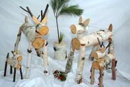 Decorative Birch Deer