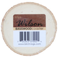 BASSWOOD COASTERS (SET OF 8)