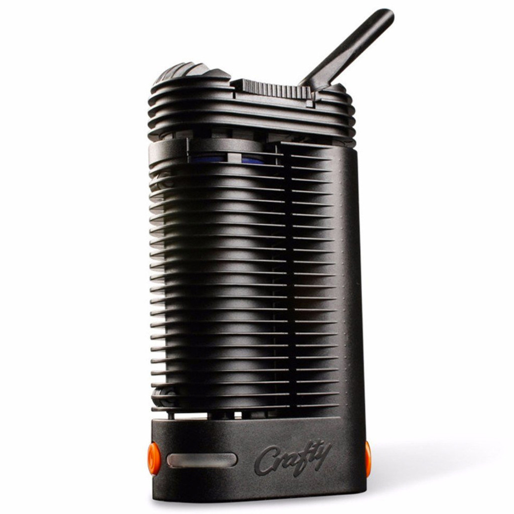 Storz and Bickel CRAFTY portable dry herb vaporizer.