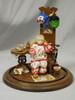 """IT'S HALLOWEEN"" 1:12 (1""Scale) Miniature OOAK Diorama Set"