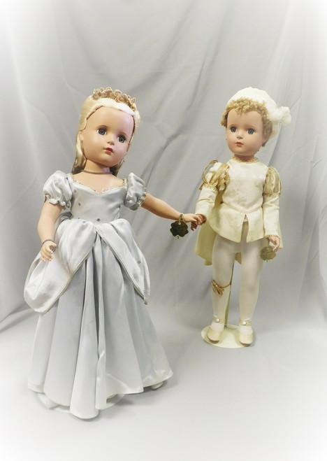 """1950 Alexander 14"""" Cinderella & Prince Charming"""
