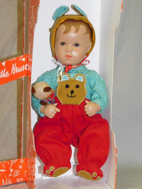 "10.5"" Kathe Kruse c1990 Baby Boy MIB"