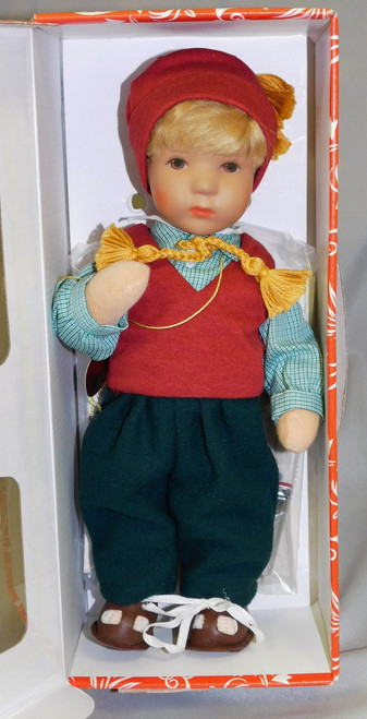 c1990 Kathe Kruse STEVIE Puppen Made in Germany