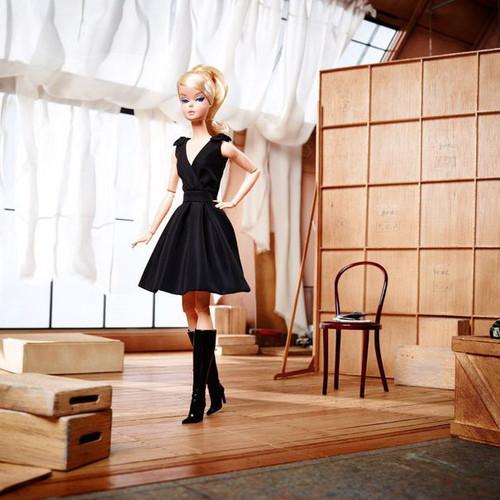 Classic Black Dress™ BFMC Silkstone Barbie® Doll