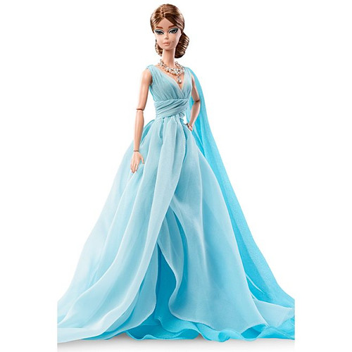 Blue Chiffon Ball Gown™ BFMC Silkstone Barbie®