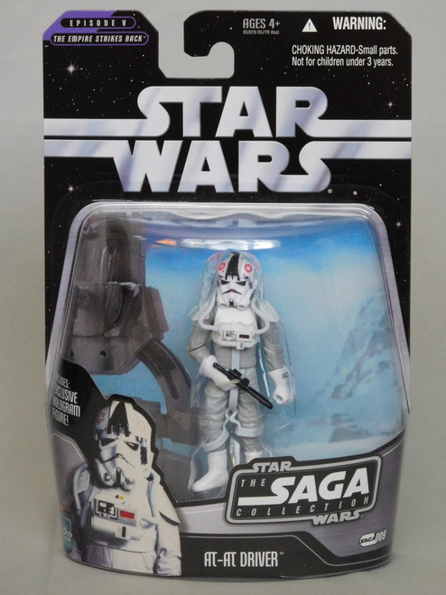 AT-AT DRIVER SAGA 009 Star Wars SAGA COLLECTION: EPISODE V ESB Hologram_NEW MOC