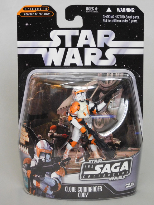 CLONE COMMANDER CODY SAGA 24 Star Wars SAGA COLLECTION: EPISODE III ROTS Hologram_NEW MOC