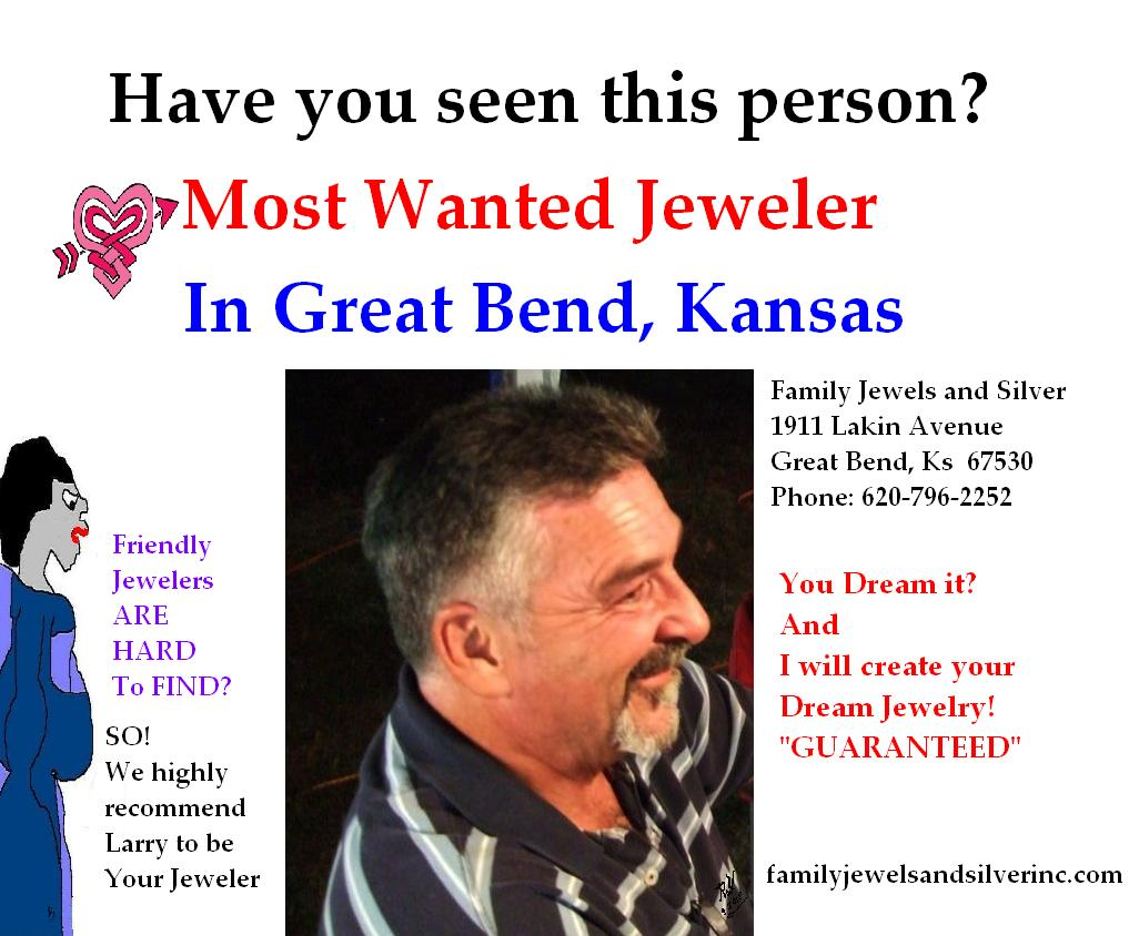 Family Jewels and Silver in Great Bend, Kansas