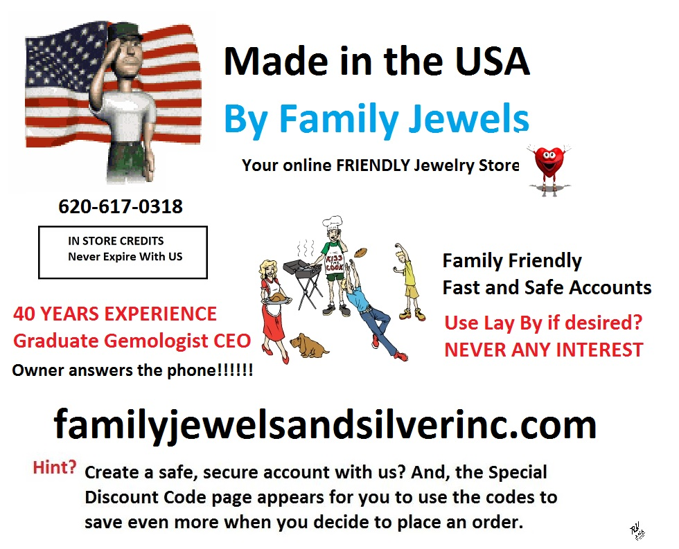 Family Jewels and Silver jewelry store in Kansas