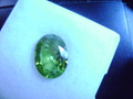 Natural Peridot Oval 6.86ct  14mm x 11mm #EB1059