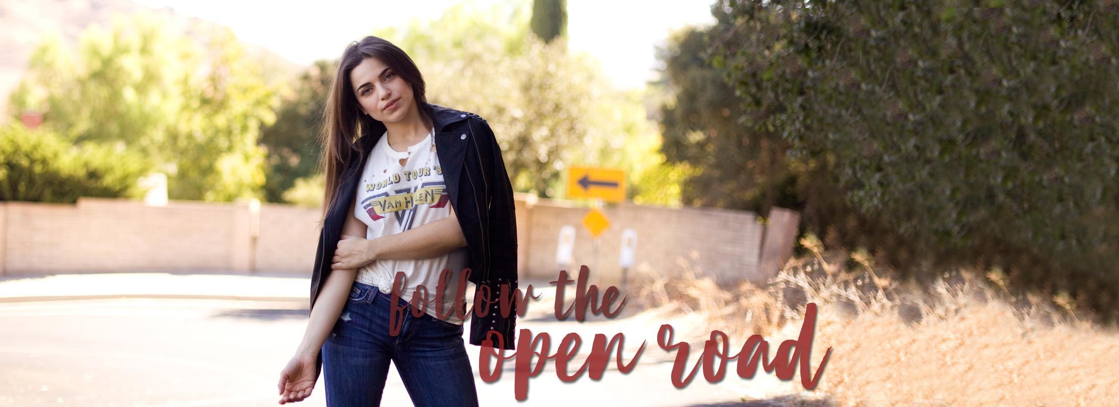 follow the open road