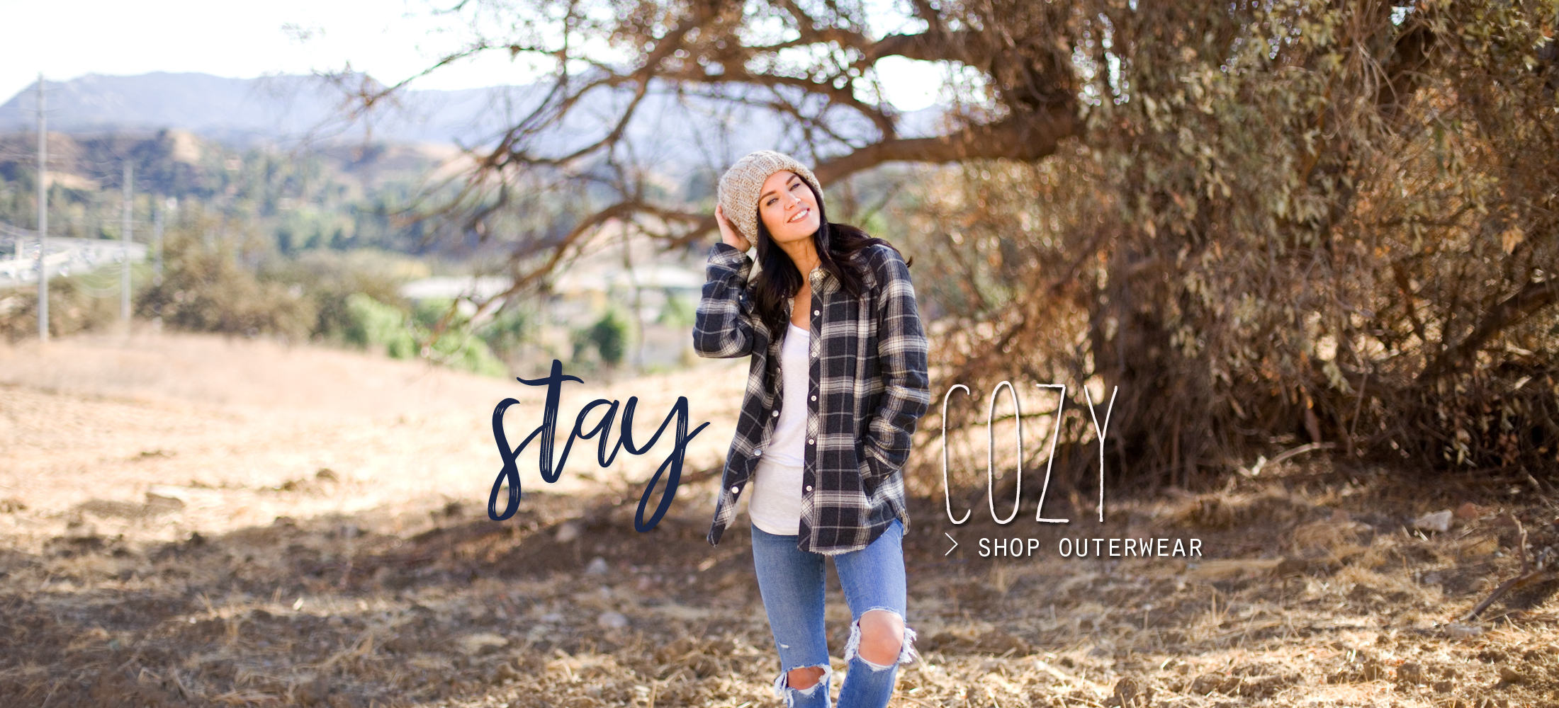 stay cozy > SHOP OUTERWEAR