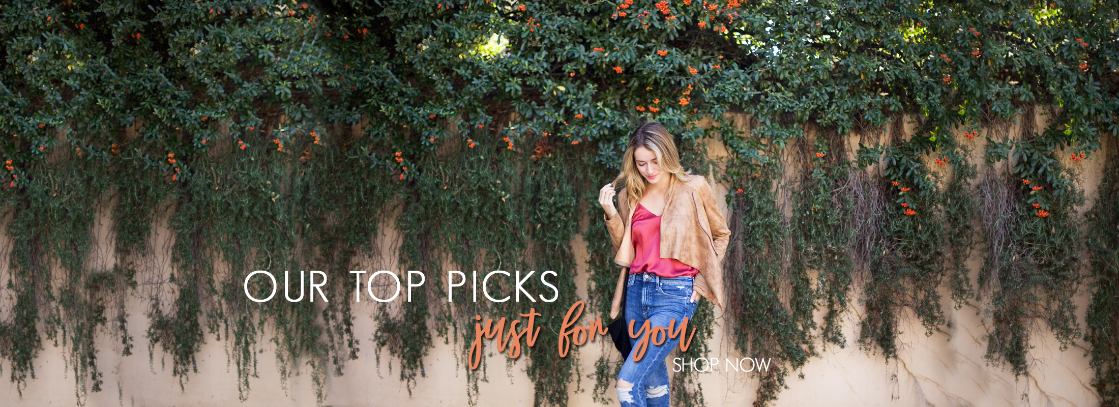 our top picks just for you shop now
