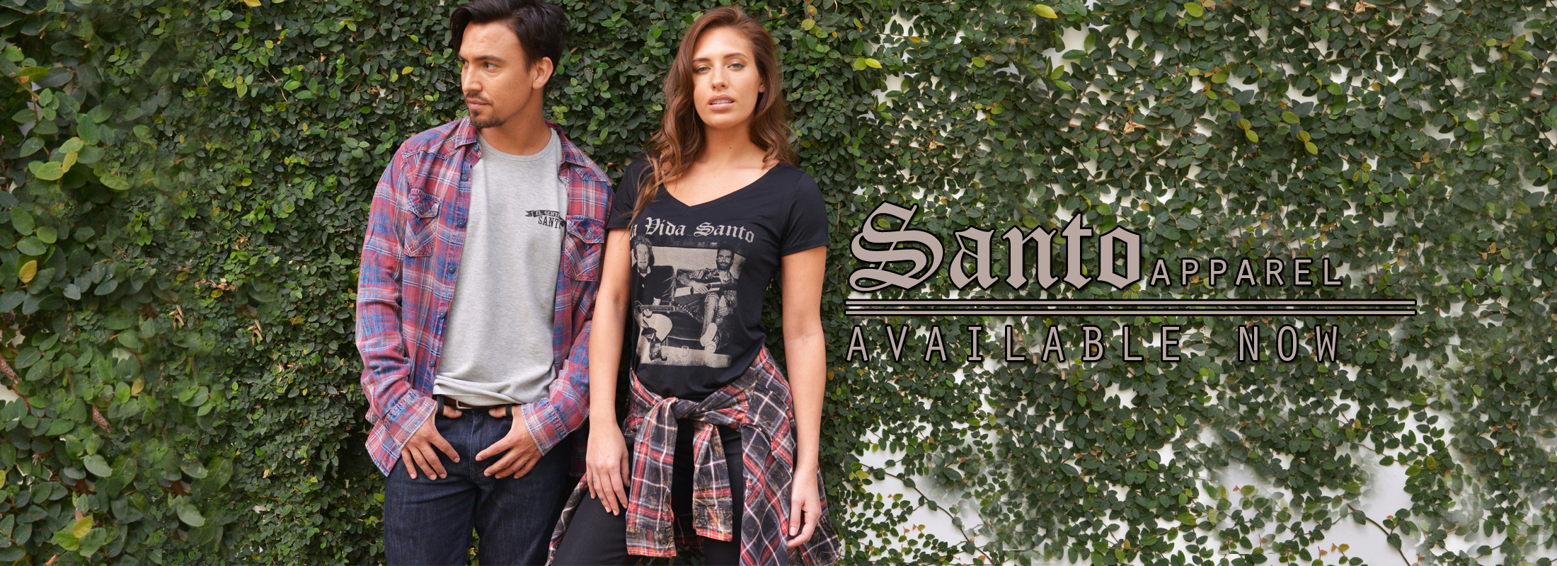 SANTO APPAREL AVAILABLE NOW