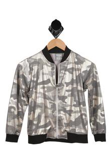Camo, Jacket, Metalic