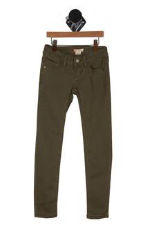 Olive Green, pants, skinny