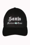 Santo, Black, Hat, Embroidered, cap, baseball hat