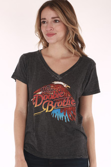doobie brothers, band tee, black tee, tour dates
