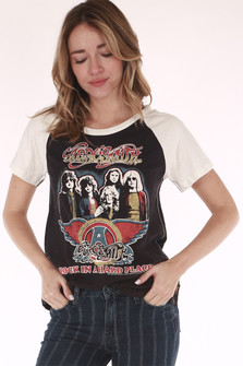 Aerosmith, band tee,tour dates and locations