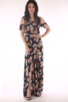 Bella Off The Shoulder Maxi Dress