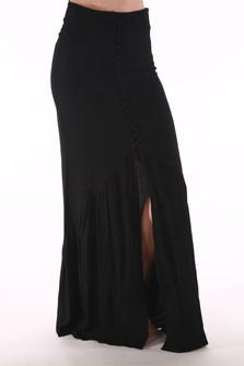 Unbutton Me Skirt w/ Front Slit