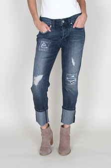 Morgan Slouchy Boyfriend Denim