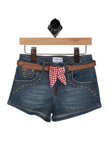 Western Denim Shorts (Toddler/Little Kid)