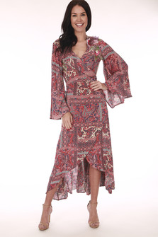 Magical Creature Wrap Dress