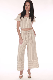 Stella High Waist Culotte Pants