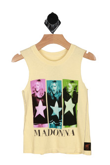 Madonna Cut Off Tank (Toddler/Big Kid)