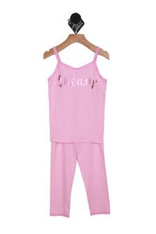 Dream Pink Pajama Set (Little Kid)