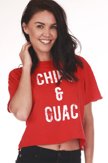 Chips & Guac Cropped Tee