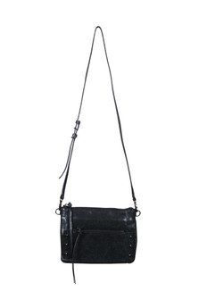Warren Crossbody Bag w/ Gunmetal Hardware