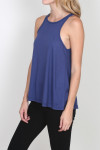 LA Nite Tank flare bottom tank in shadow plum for more detail contact toll free 855-597-0313