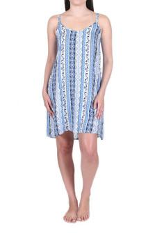 Coastal Printed Sleep Dress