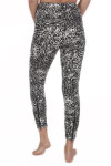 Mindi Zip Crop Legging Back has zipper at waist and zippers at the ankles