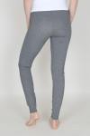 Taylor Seamed Full-Length Legging back is plain