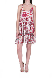 Native Dreams Babydoll Mini Dress